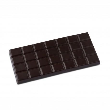 Tablette chocolat noir grué