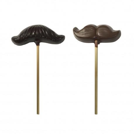 Sucettes moustache