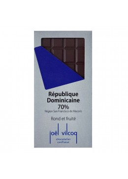 Tablette pure origine Rép-Dominicaine 70%