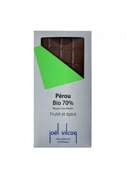 Tablette pure origine Perou 70%