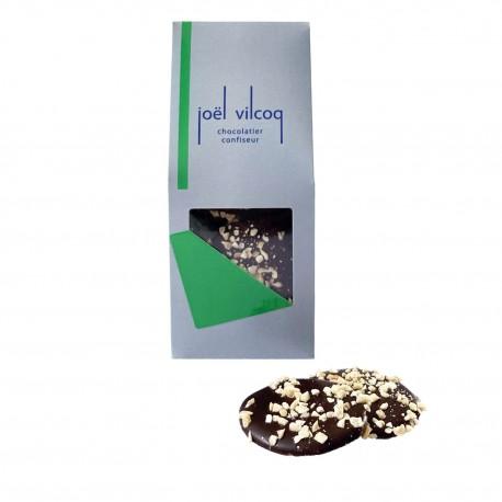 Palets chocolat noir amandes