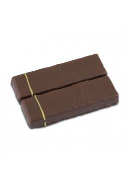 Barres chocolatées ganache mangue