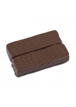 Barres chocolatées gianduja praliné feuilletine